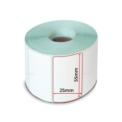 LABEL ROLL 55x25