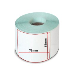 LABEL ROLL 55x75
